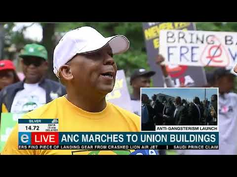 ANC march to Union Buildings