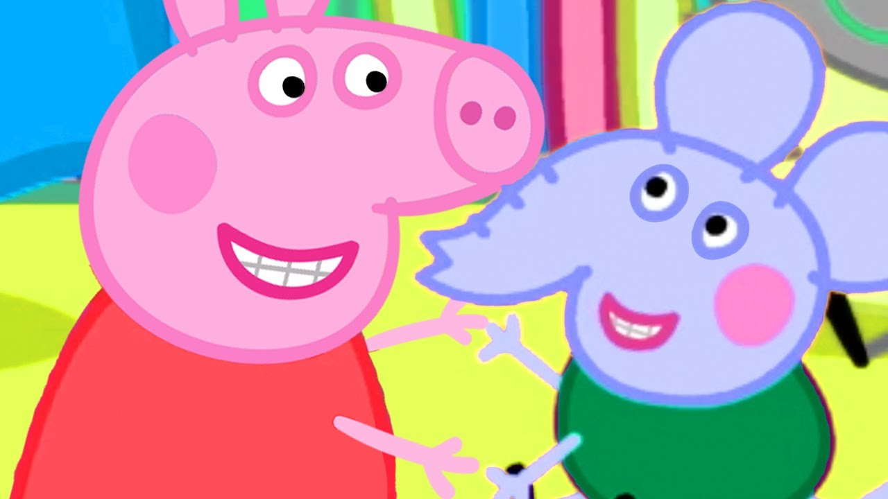 Peppa Pig Official Channel Peppa Pig And Edmond Elephant S Fruit Song