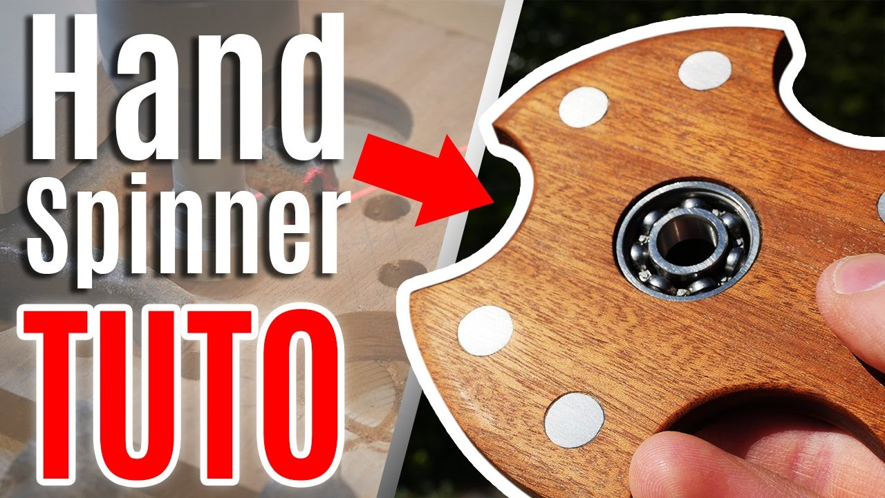 comment fabriquer un hand spinner en bois youtube. Black Bedroom Furniture Sets. Home Design Ideas