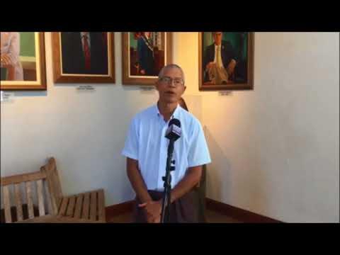 Glenn Fubler At Peace Day, Sept 21 2017