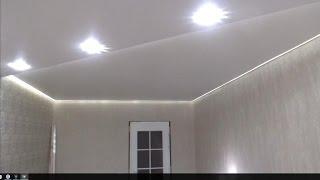 Контурная светодиодная подсветка.