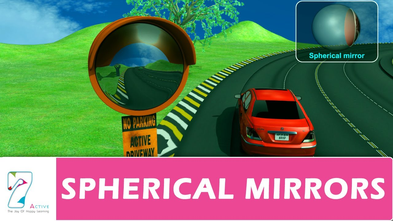 what are the uses of spherical mirrors