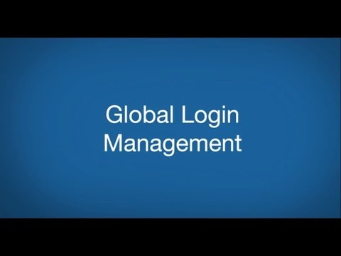 PCM BD - Chapter 3.1.4. - Administration of Site - Global Login Management
