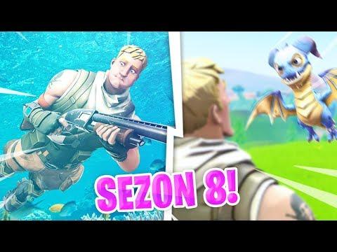 SEZON 8 w Fortnite! Czego się spodziewać?