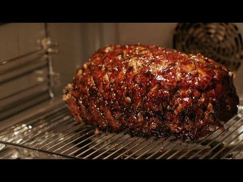 Slow-cooked black treacle ham recipe - Simply Nigella: Christmas Special - BBC Two