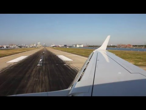 BA Cityflyer Embraer 190 Rotterdam - London City