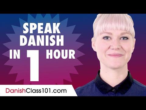 Learn How To Speak Danish In 1 Hour