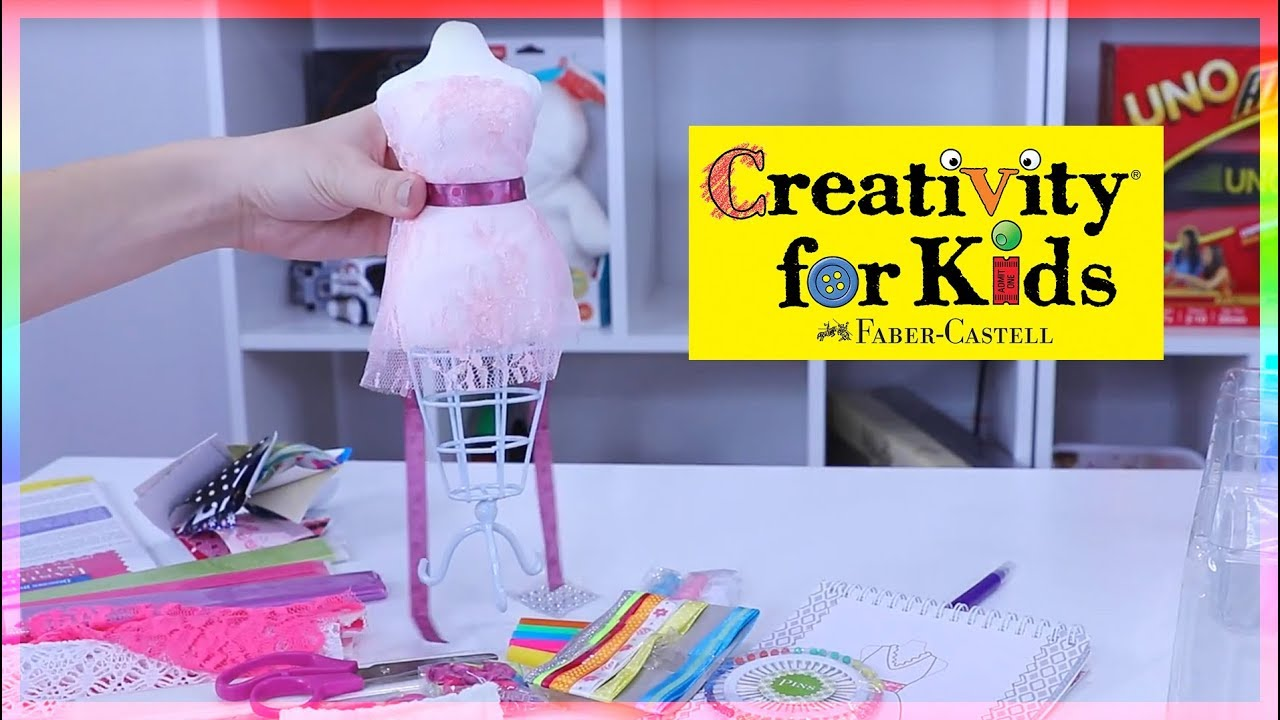 Creativity For Kids Designed By You Fashion Studio Youtube