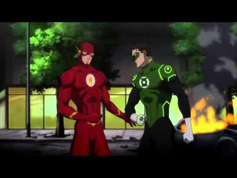 """Justice League: WAR """"Flash Meets Batman (Funny)"""""""