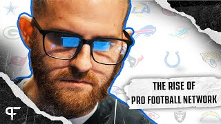 Building a Mock Draft Simulator \u0026 Changing Lives | THE RISE OF PRO FOOTBALL NETWORK