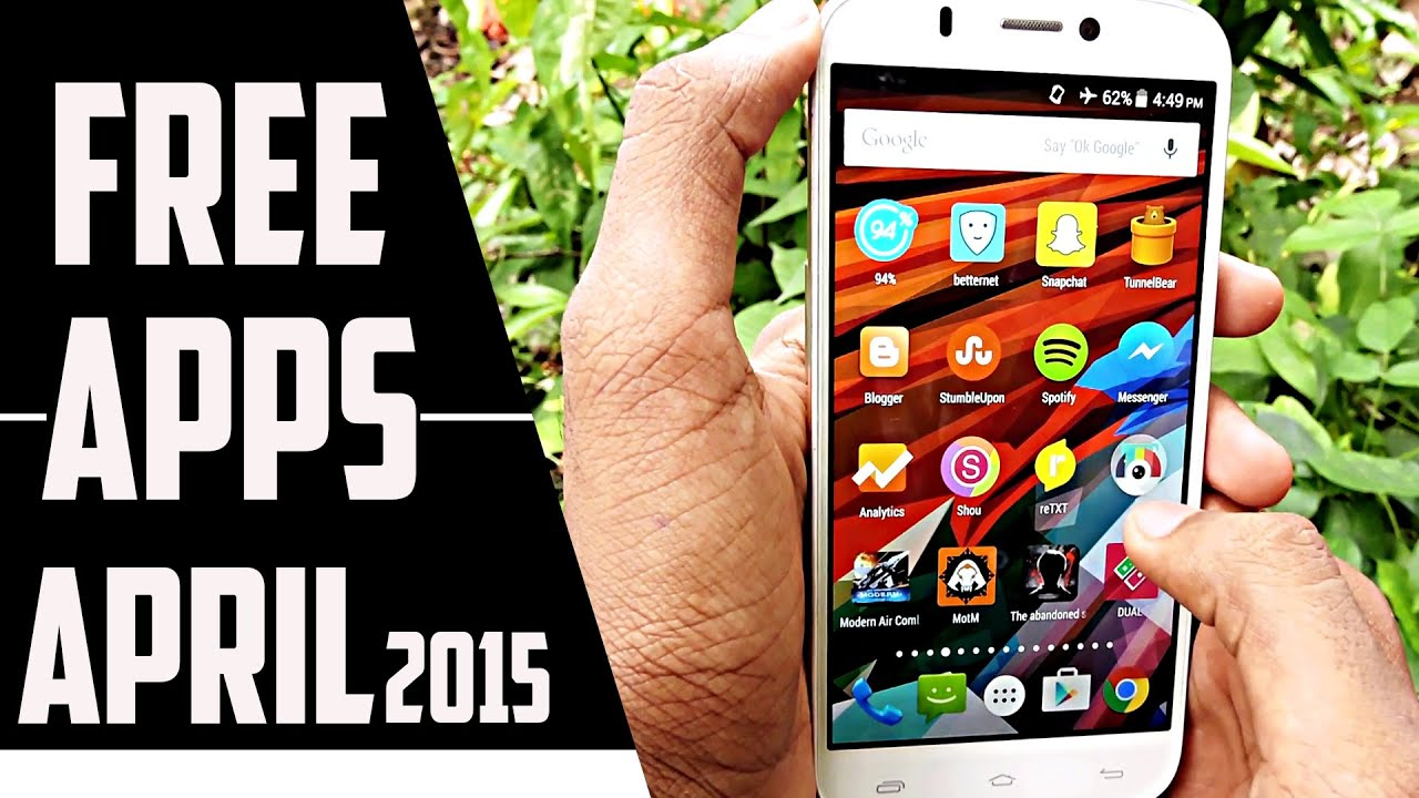 best android apps free 2015