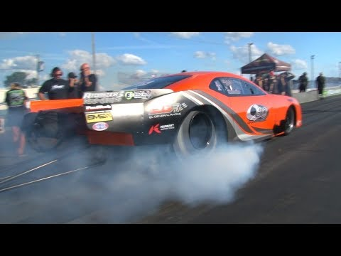 Big Brad - Whats the odds two Promod drag-racers have the exact same time..It happend!