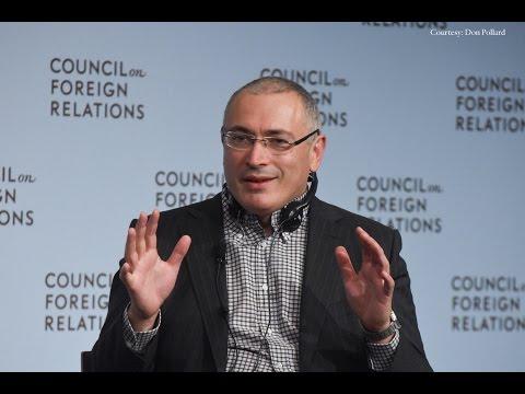 Mikhail Khodorkovsky on Open Russia and Building Civil Society