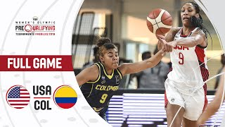 USA v Colombia - Full Game - FIBA Women