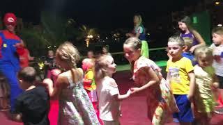 Отдых с детьми в отеле Роял Тулип в Марса Аламе Мини диско сайт oksana travel