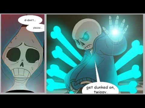 Deeper Down Part 8【 Undertale Comic Dub 】