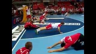Polska-Niemcy 25:24 oficjalna rozgrzewka