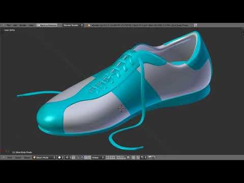 Shoe Modeling in Blender -- Part 01