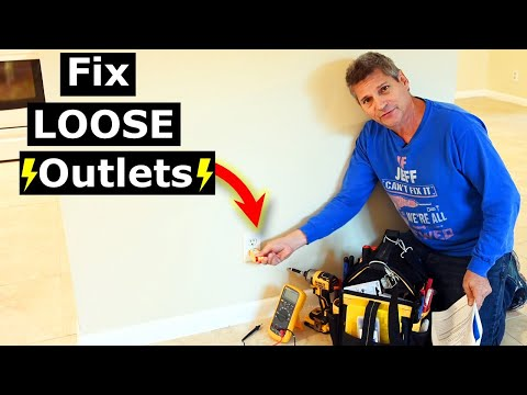 2 Tricks To Tighten Loose Electrical Outlets, Switches