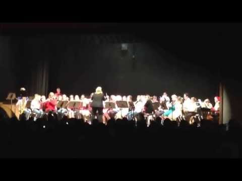 KIngsway Regional Middle School Holiday concert 2014. Rockin with Frosty