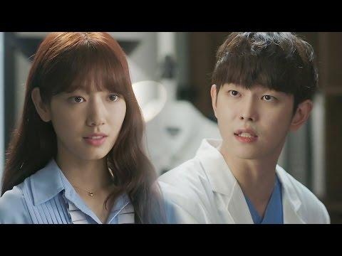 Park Shin Hye & Yoon Kyun Sang, very intense first meeting 《The Doctors》 닥터스 EP04