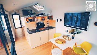 Das Tiny House In Leipzig - Roomtour Im Smarthaus 🏠