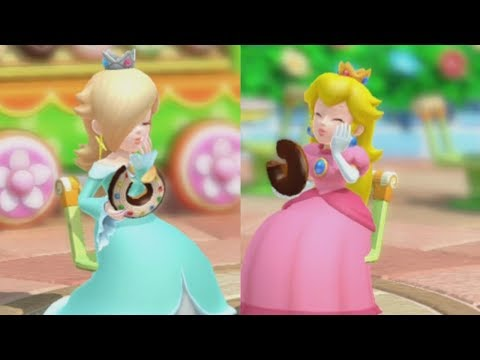 Mario Party 10 - Rosalina Vs. Peach - Haunted Trail