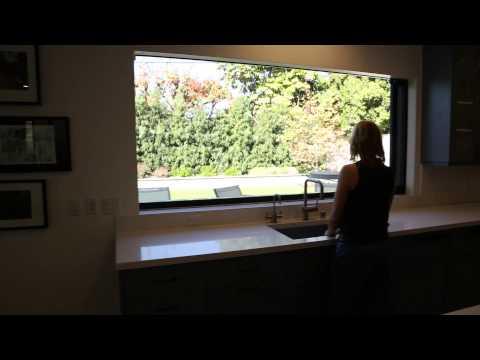 Motorized Kitchen Window