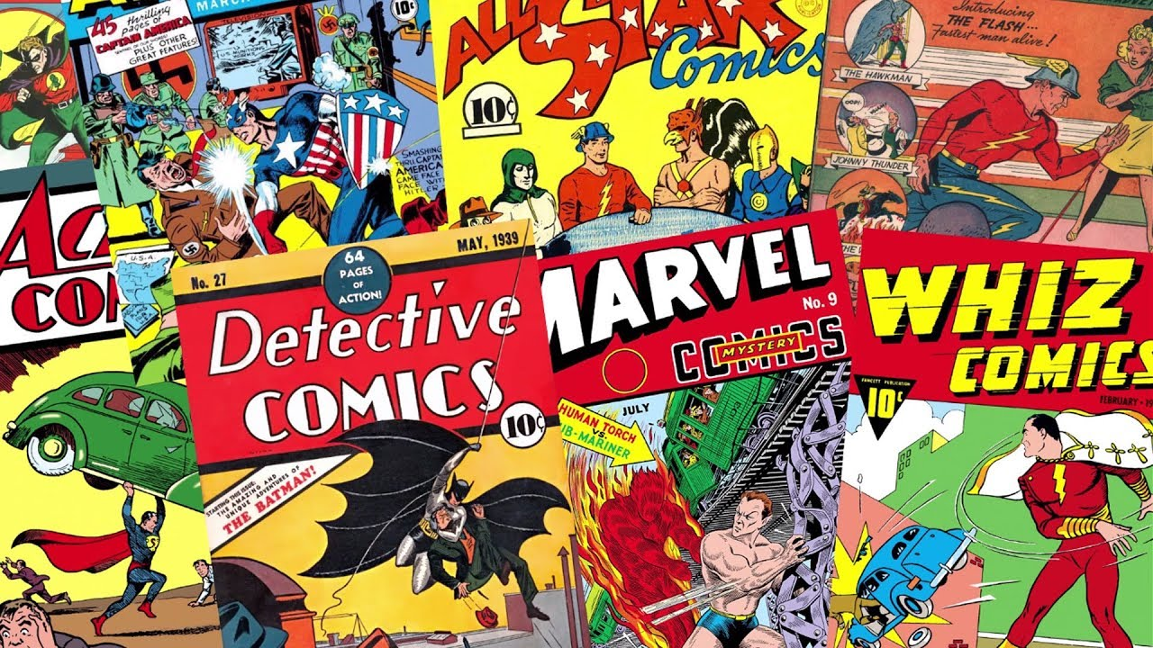 History of the Golden Age of Comics - YouTube