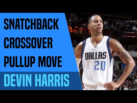 Breakdown: Devin Harris Snatchback Crossover Pullup Move | Move-Of-The-Night | Dre Baldwin