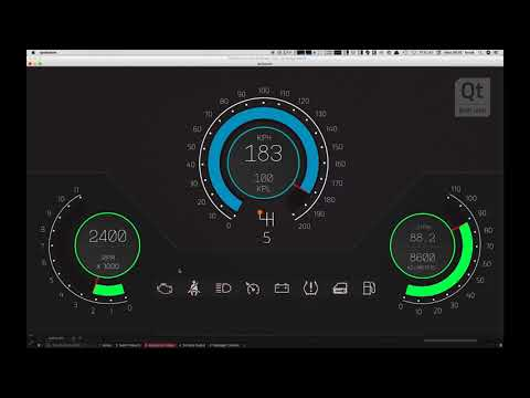 Tutorial Learn To Use Qt Design Studio By Building An Instrument Cluster For Your Car Hmi Part 1