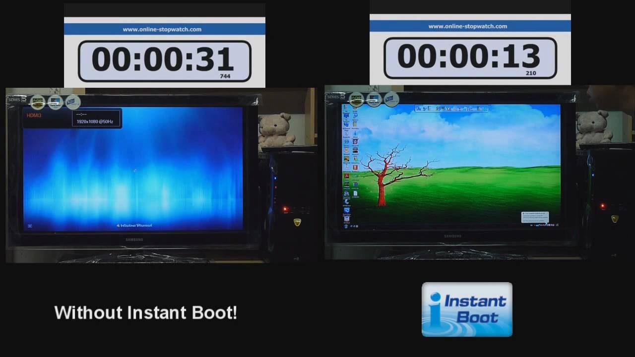 instant boot - Asrock - YouTube