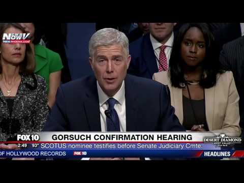 FNN: SCOTUS Nominee Judge Neil Gorsuch's Opening Statement During Senate Confirmation Hearing