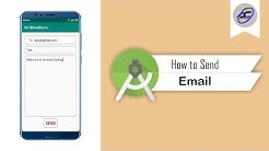 How to Send Email in Android Studio | SendEmail | Android Coding