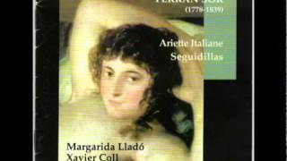 F. Sor: De amor en las prisiones-Margarida Lladó, mezzosoprano y Xavier Coll, guitarra romántica