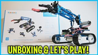 Unboxing & Let's Play - Ultimate 2.0 - 10 in 1 Robot Kit - by MakeBlock -  STEM robotics