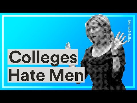 Christina Hoff Sommers Explains How Colleges Make Life Hell for Young Men