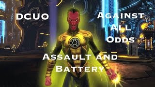dcuo dr in against all odds episode 3 assault and battery elec dps heal pov