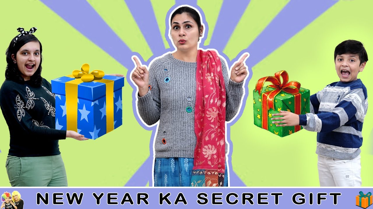NEW YEAR KA SECRET GIFT | Happy New Year 2021 | Short Movie | Aayu and Pihu Show