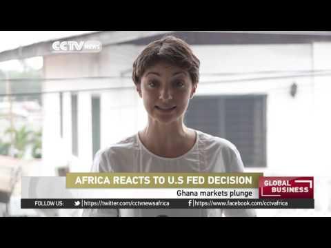 Ghana markets plunge after U.S. FED decision