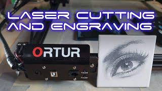 Ortur Laser Master 2 Setup And Burn
