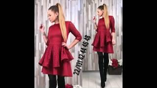 видео Красивые и стильные платья с кружевом