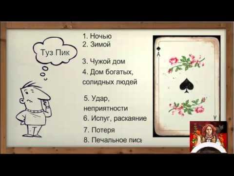гадание на игральных картах на знакомство
