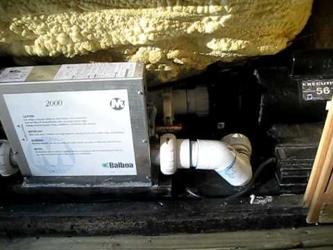 Noisy hot tub motor youtube for Hot tub motor not working