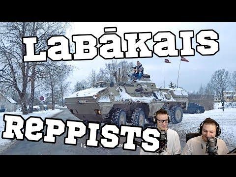 LATVIJĀ LABĀKAIS REPPISTS