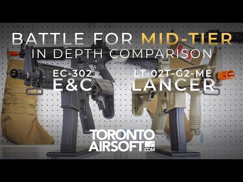 BATTLE FOR MID-TIER: E&C vs LANCER'S NEW PROLINE SERIES - TorontoAirsoft.com