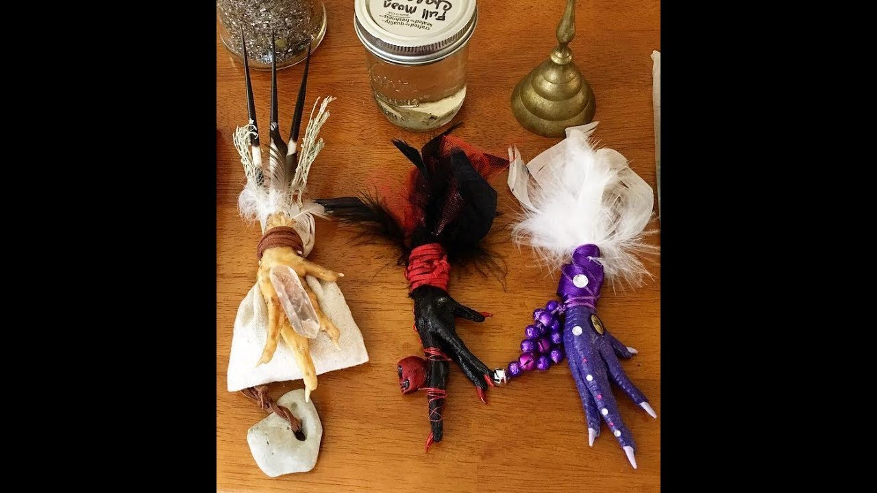 Chicken Foot Protection Charms