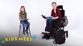 Kids Meet a Teen With Chronic Illness | Kids Meet | HiHo Kids