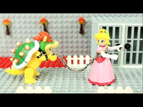 mario-storms-bowser's-castle!-save-princess-peach!-(lego-stop-motion)