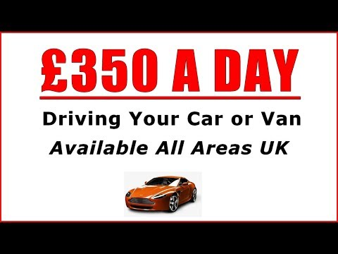 £350 A Day Driving Jobs - Best Courier Driving Jobs UK?